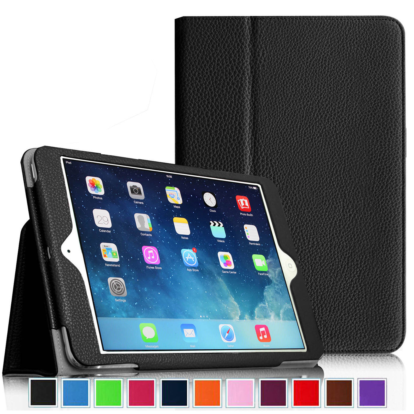 Flip PU Leather Case For Apple New iPad 9.7 2017 Magnetic Auto Wake Up Sleep Cover For ipad 2017 A1822 tablet funda capa case