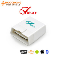 Super elm327 OBD adapter Viecar 4.0 OBD2 Bluetooth Scanner with Car HUD Display Function for Android & IOS BT adapter