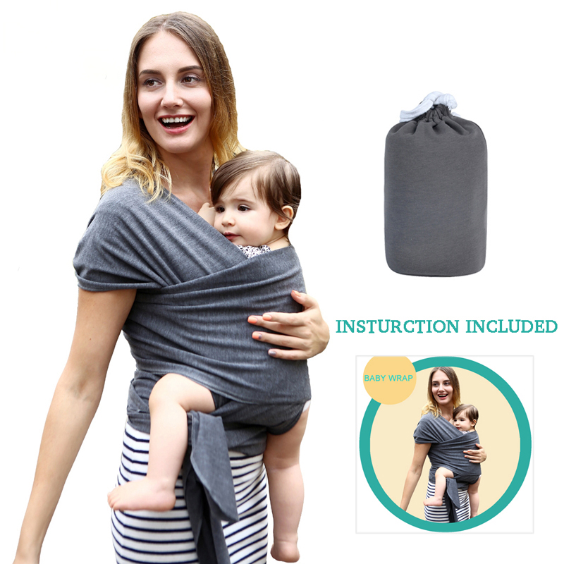 Baby Carrier For Newborns Soft Breathable Wrap Hipseat Breastfeed Birth Comfortable Nursing Cover Infant Wrap
