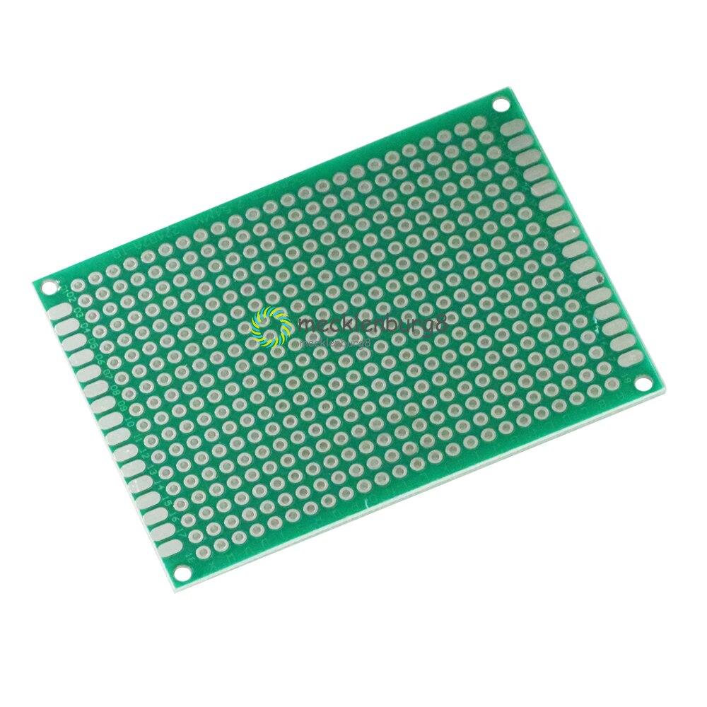 10PCS Double Side Prototype PCB Tinned Universal Breadboard 2x8 cm 20mmx80mm FR4