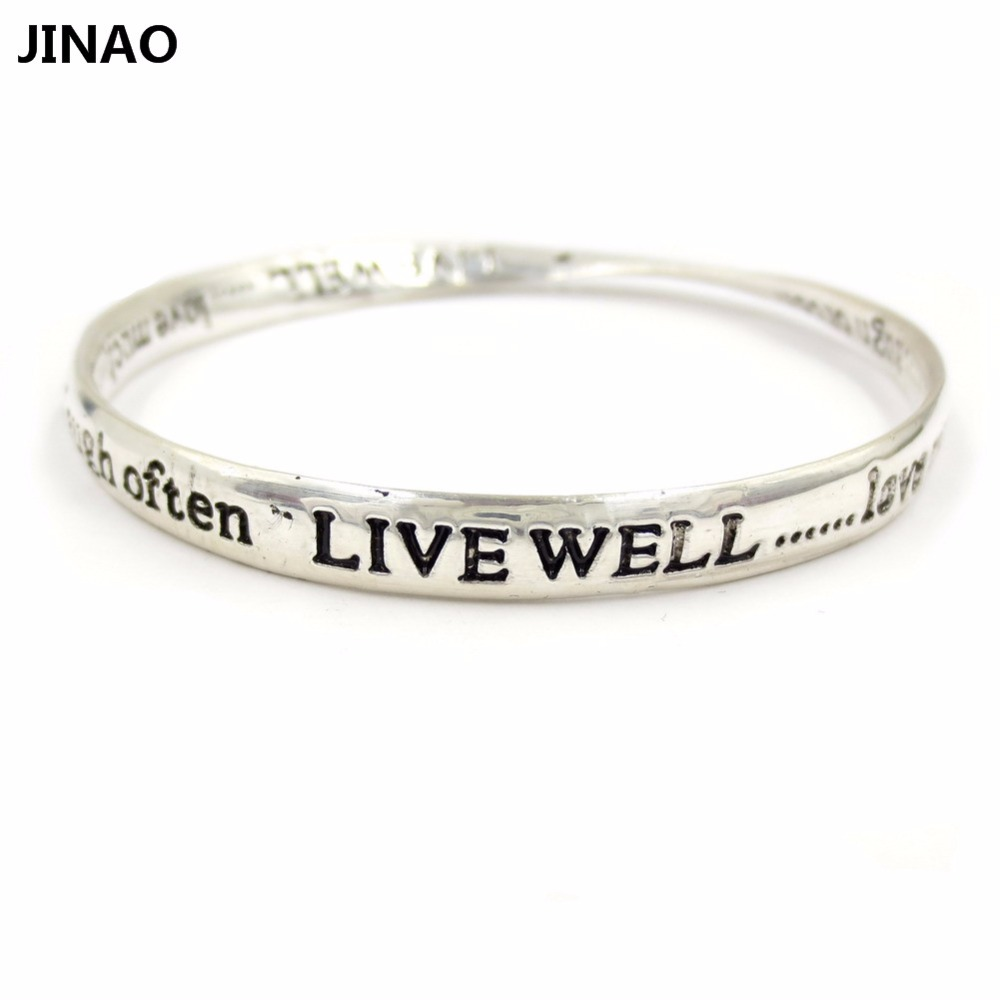 bracelet cuff mother womens sterling daughter special inscribed gift silver