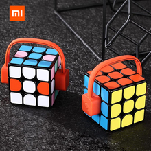 2019Xiaomi Giiker Super Rubik  Cube Learn With Fun Bluetooth Connection Sync Puzzle Toys Development Toy
