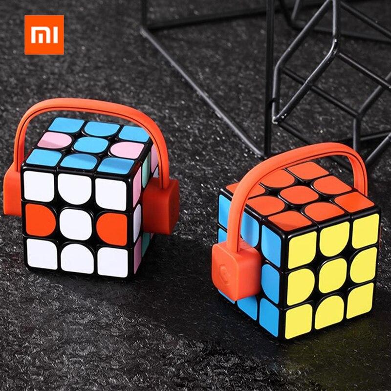 2019Xiaomi Giiker Super Rubik Cube apprendre avec plaisir connexion Bluetooth synchronisation Puzzle jouets Cube développement jouet