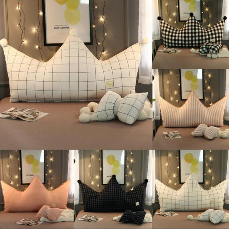 US $56.09 29% di SCONTO|Vescovo camera da letto letto cuneo cuscino dello  schienale cuscino per letto di grandi dimensioni grande di lettura cuscino  ...