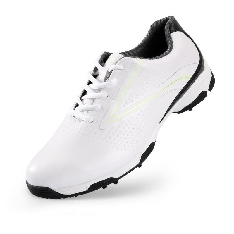 PGM Golf Shoes Men PU Leather Shoes Buty Sportowe Men EVA Non-slip Lace-Up Sneakers Breathable Professional Golf Shoes ...