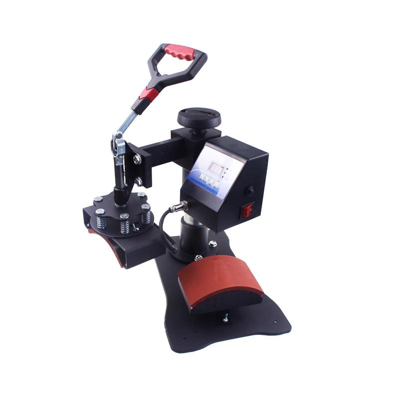 Digital Heat Press Machine Hat Ball Cap Clam Sublimation Pressing Transfer Heat Press for Caps