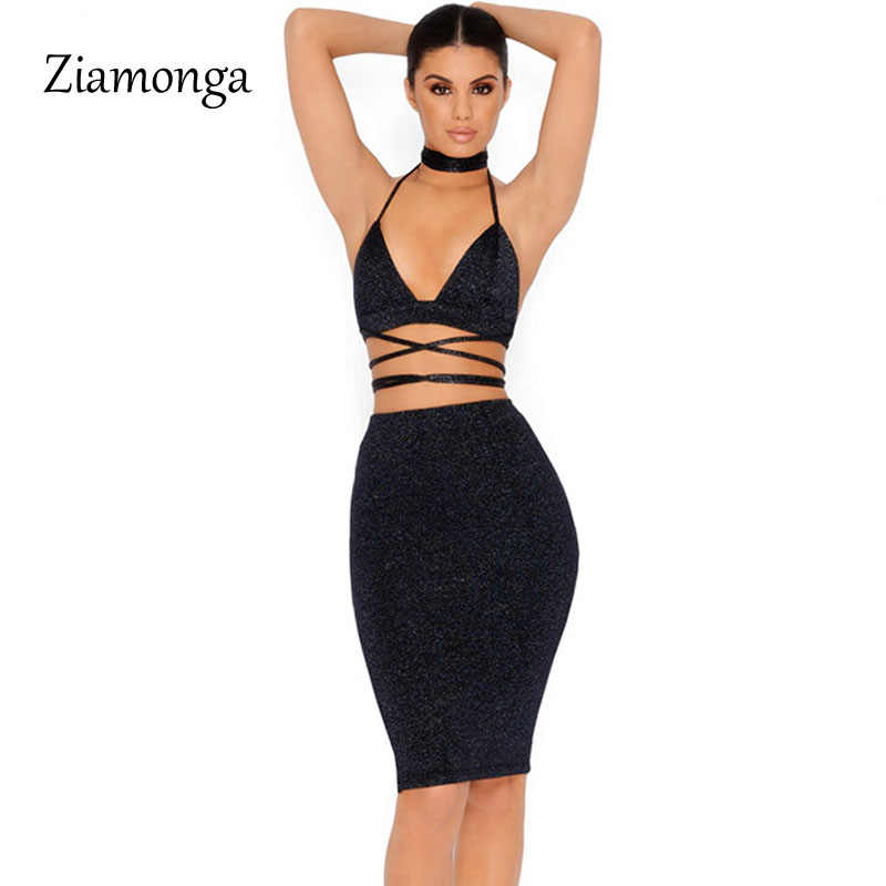 d7022f3a6511 Detail Feedback Questions about Ziamonga Glitter Halter Tie Up Two ...