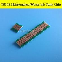 T6193 Chip For EPSON SureColor F6070/F7070/F7000/F6000 Manutenzione Serbatoio Chip/Maintenance Ink Tank Chip недорго, оригинальная цена