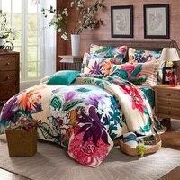 Home Textile 100 Cotton Luxury Queen Size 3d Bedding Set Bedclothes Bed Set Duvet Cover Bed