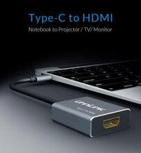 USB C к HDMI 4k @ 60 hzusb 3.1 Тип C к HDMI адаптер для MacBook для Samsung Galaxy S8 плюс