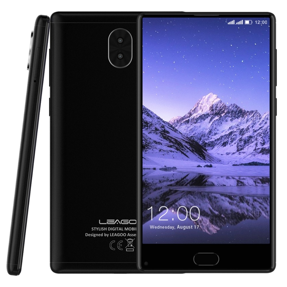 Leagoo origine Kiicaa MÉLANGER 4G LTE Mobile Téléphone 5.5 ''Plein Écran MTK6750T Octa base Android 7.0 3 GB RAM 32 GB ROM Double Retour cames