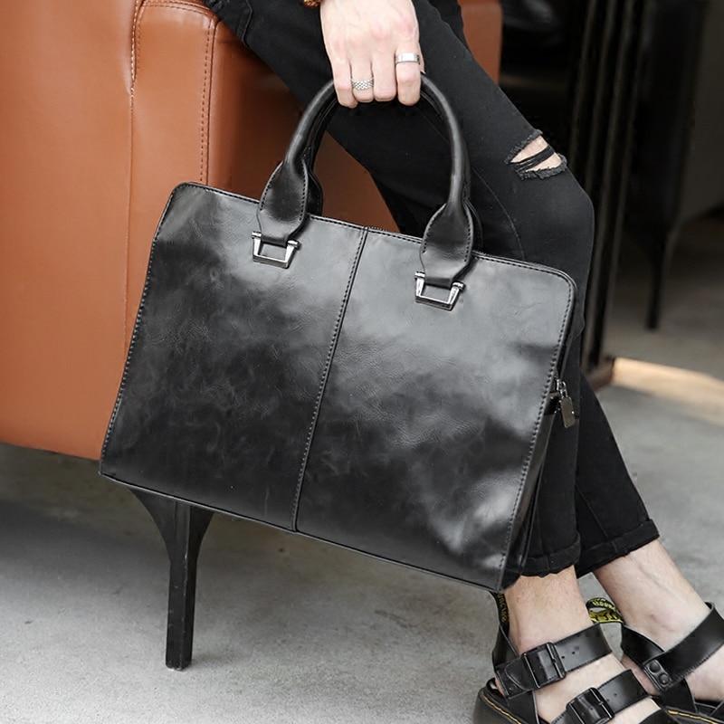 Tidog Original Vintage Handbag Shoulder Bag Messenger Bag Business Bag Breifcase