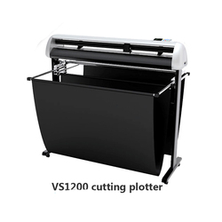 Nowe cyfrowe naklejki winylu VS1200 do cięcia drukarki brajlowskiej maszyny do grawerowania maszyna do cięcia na wysokiej jakości z akcesoriami w Drukarki od Komputer i biuro na