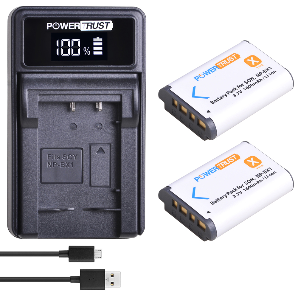 NP-BX1 npbx1 bx1Battery+LED USB Charger For <font><b>Sony</b></font> FDR-X3000R RX100 AS100V <font><b>AS300</b></font> HX400 HX60 AS50 WX350 AS300V <font><b>HDR</b></font>-AS300R FDR-X3000 image