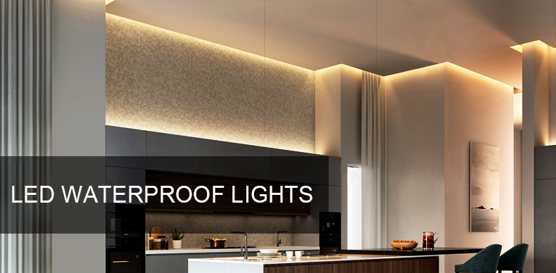 LED Under Cabinet Light White/Warm White Dimmable LED lamp Strip with RF Dimmer 60leds/m Flexible LED tape kitchen closet light