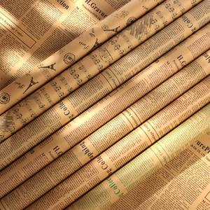 Image 1 - 7 قطعة/المجموعة الحنين القديم الإنجليزية صحيفة الأوروبية نمط 52*75 سنتيمتر التصوير خلفية ورقة للصور استوديو الحلي الدعائم