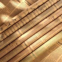 7 pz/set Nostalgico Giornale Inglese Stile Europeo 52*75 cm Fotografia Carta di Sfondo per la Foto In Studio Ornamenti Puntelli