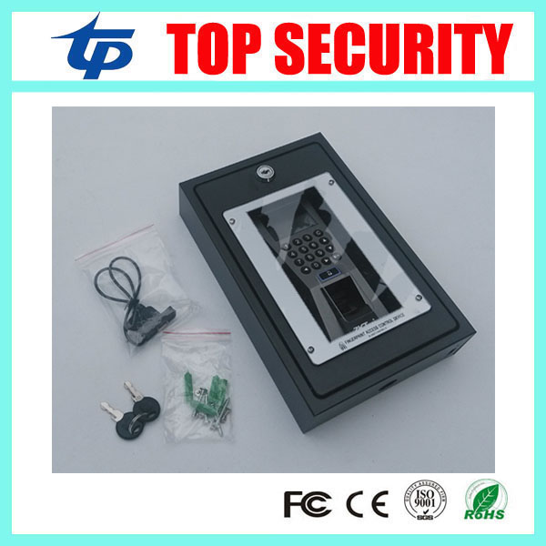Fingerprint access control F18 protect box good quality metal protect cover safety housing protective cover box