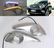 Tagfahrlicht Für Toyota Highlander 2012 mit bernstein blinker licht