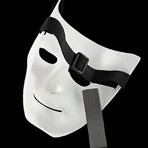 Image 5 - Halloween Party DIY Scary Masks White Full Face Cosplay Masquerade Mime Mask Ball Party Costume Masks