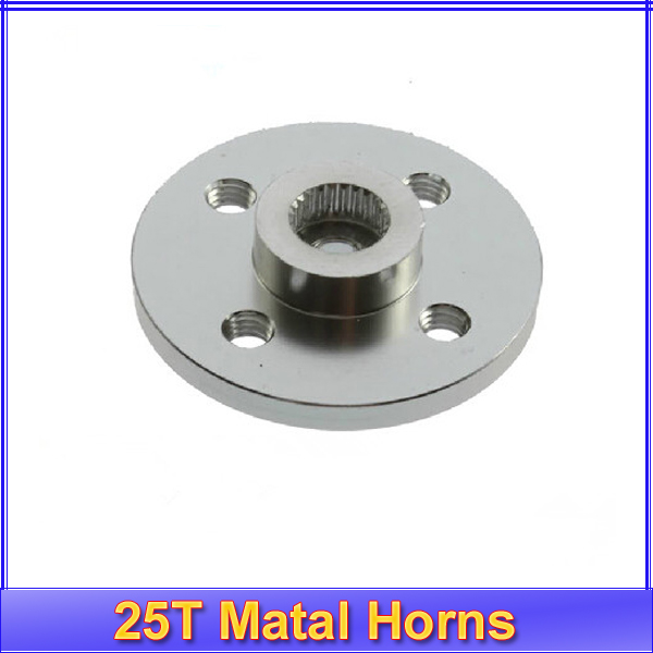 1pc Servo Arm Round type Disc 25T Matal Horns For Towrer Pro MG995 MG996 Futaba ACE