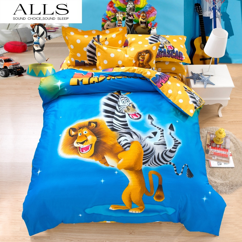 Bed Set With The Monkey From Lion King