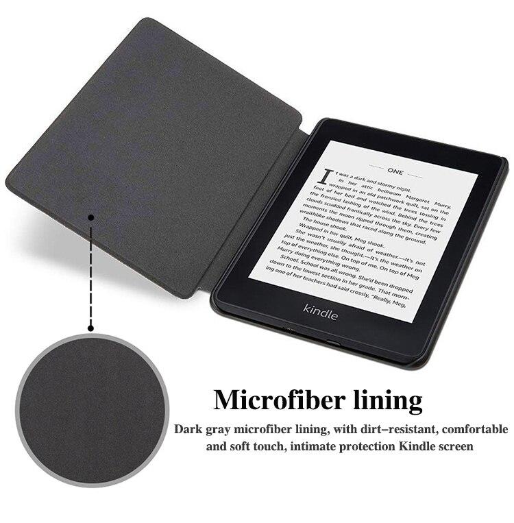 🛒[y6gbb] BOZHUORUI Smart Cover Case For Amazon New Kindle