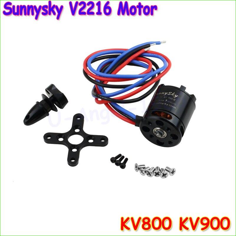free shipping Sunnysky V2216 650KV 800KV 900KV Multi rotor Copter Outrunner Brushless Motor