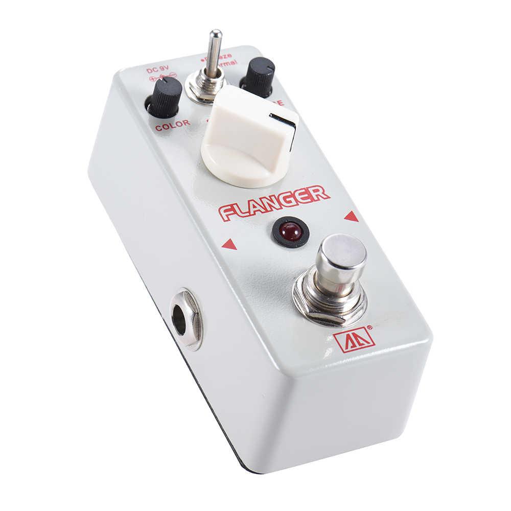 رائحة ATR-5 الكلاسيكية التناظرية فلنجر تأثير الغيتار دواسة 2 طرق سبائك الألومنيوم الجسم صحيح الالتفافية الغيتار أجزاء وكماليات