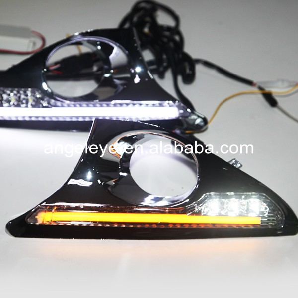 New Camry strip LED Daytime Running Light For Fog Light 2012-2013 year with Turning fuction for kuga led strip daytime running light 2013 2014 year v1