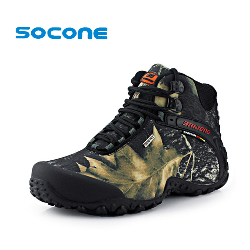 Waterproof Men's Hiking Boots Outdoor Shoes New Autumn Winter Sport Shoes Men Sneakers Trekking Outventure Walking Shoes Boots humtto new hiking shoes men outdoor mountain climbing trekking shoes fur strong grip rubber sole male sneakers plus size
