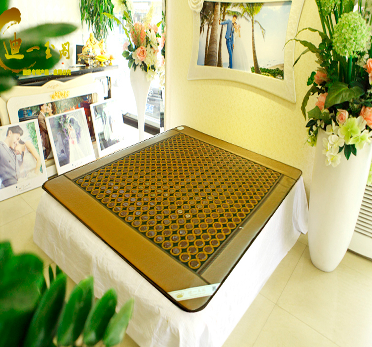 New! 100% Good tourmaline mat health care pad jade Physical therapy mat AC220V Size 1.0X1.9M,Free shipping