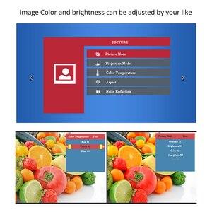 Image 3 - TouYinger T4 جهاز عرض صغير LED HDMI 1280x720 المحمولة متعاطي المخدرات USB السينما المنزلية (اختياري السلكية مزامنة عرض هاتف لوحي)