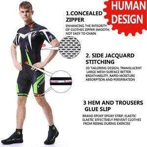 Image 2 - X Tiger Conjunto de ropa para ciclismo, prendas para bicicleta de montaña, uniforme de carreras, camisetas de ciclismo de secado rápido