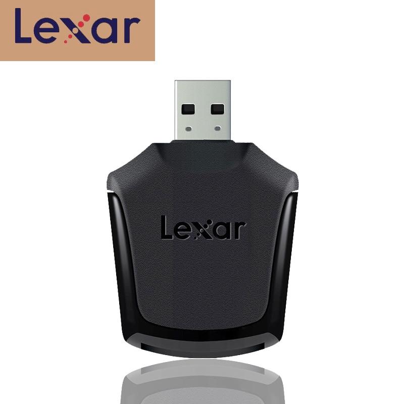 Lexar profesional XQD 2,0 lector de tarjetas SD de memoria inteligente USB 3,0 adaptador de transferencia de alta velocidad de imágenes RAW y archivos de vídeo 4K