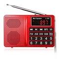 Original Altavoz L-258 FM/AM/SW Multibanda Altavoz de Radio Reproductor de MP3 Pantalla LCD Soporta FM Altavoz de Control de Volumen