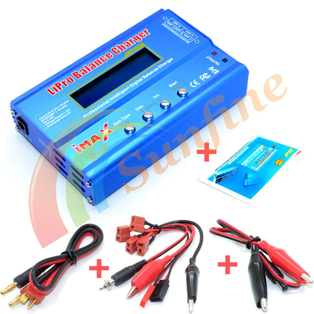 New 80W IMAX B6 LIPO Battery Balance Charger Free Shipping with Track Number 12000459
