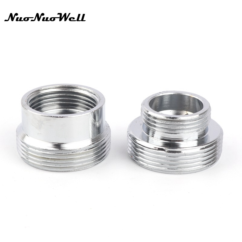 Stainless Steel Male M22 To M16 Thread Connector Faucet Fittings Water Tap Adapter  Water Purifier Accessory Bubbler Joints