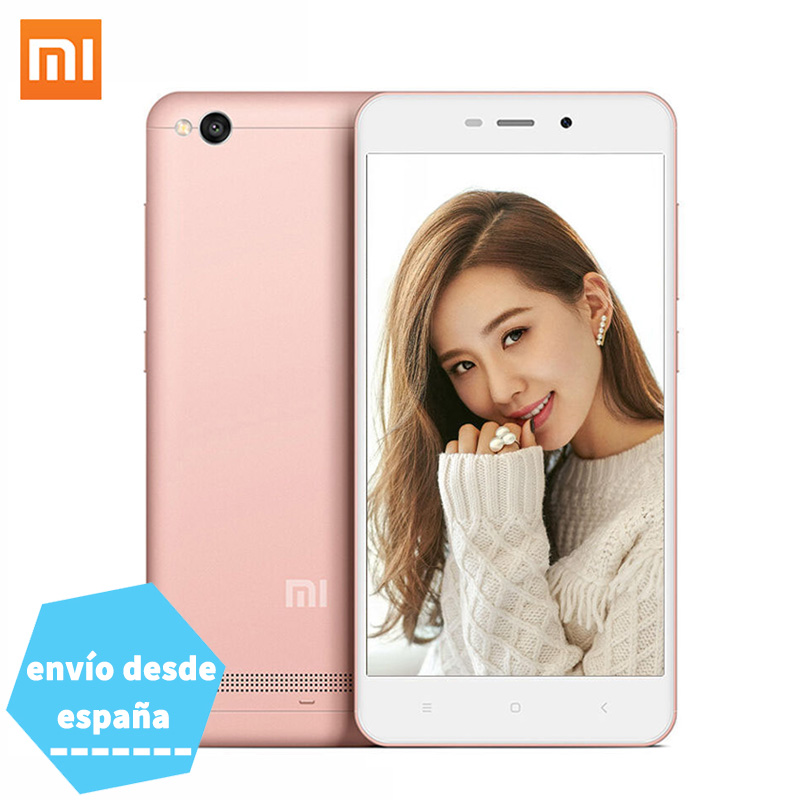 "Xiaomi Redmi 4A Phone 2GB RAM 16GB ROM 5.0"" 4G FDD LTE Snapdragon 425 Quad Core Mobile Phone 13.0MP 3120mAh Battery Metal Body"
