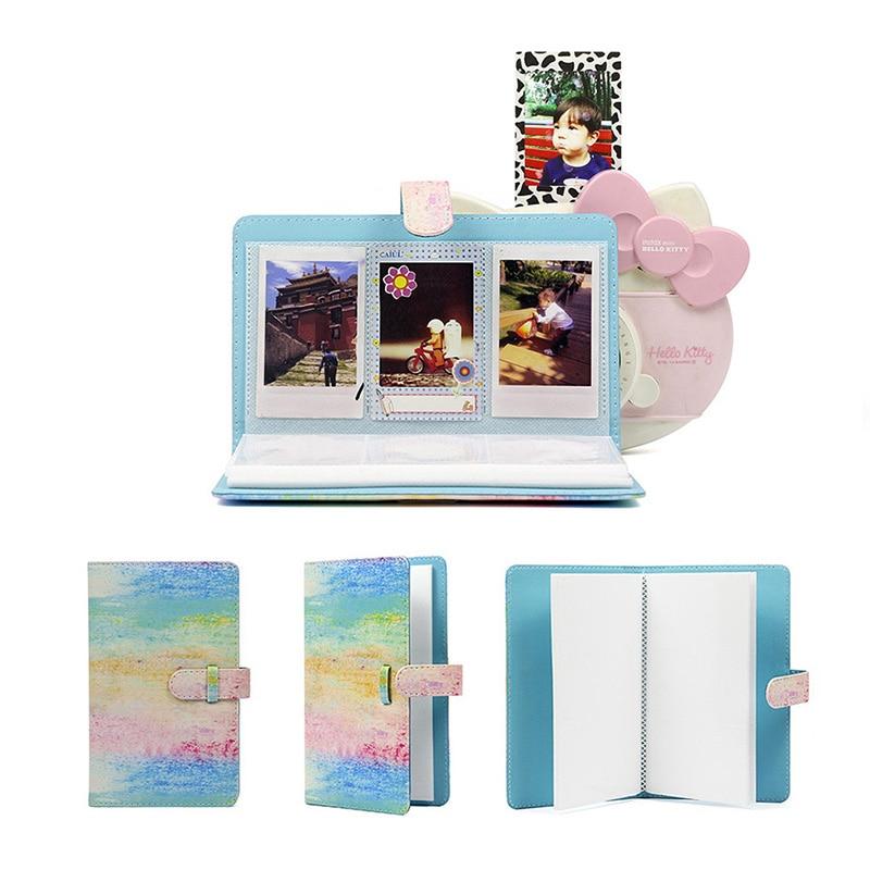 96 taschen 3 zoll Foto für Fujifilm Instax Mini 9 7 s 8 90 25 50 s Film Kamera Flamingo schützen Fall Favoriten Buch Album PU