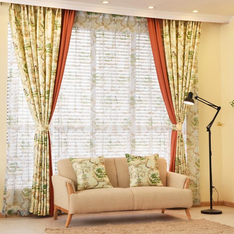 оформление окна шторами в гостиной фото фотки