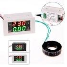 AC 500V 50A Digital Voltmeter Current Ammeter LED Analysis Volt Meter Electrical Instruments