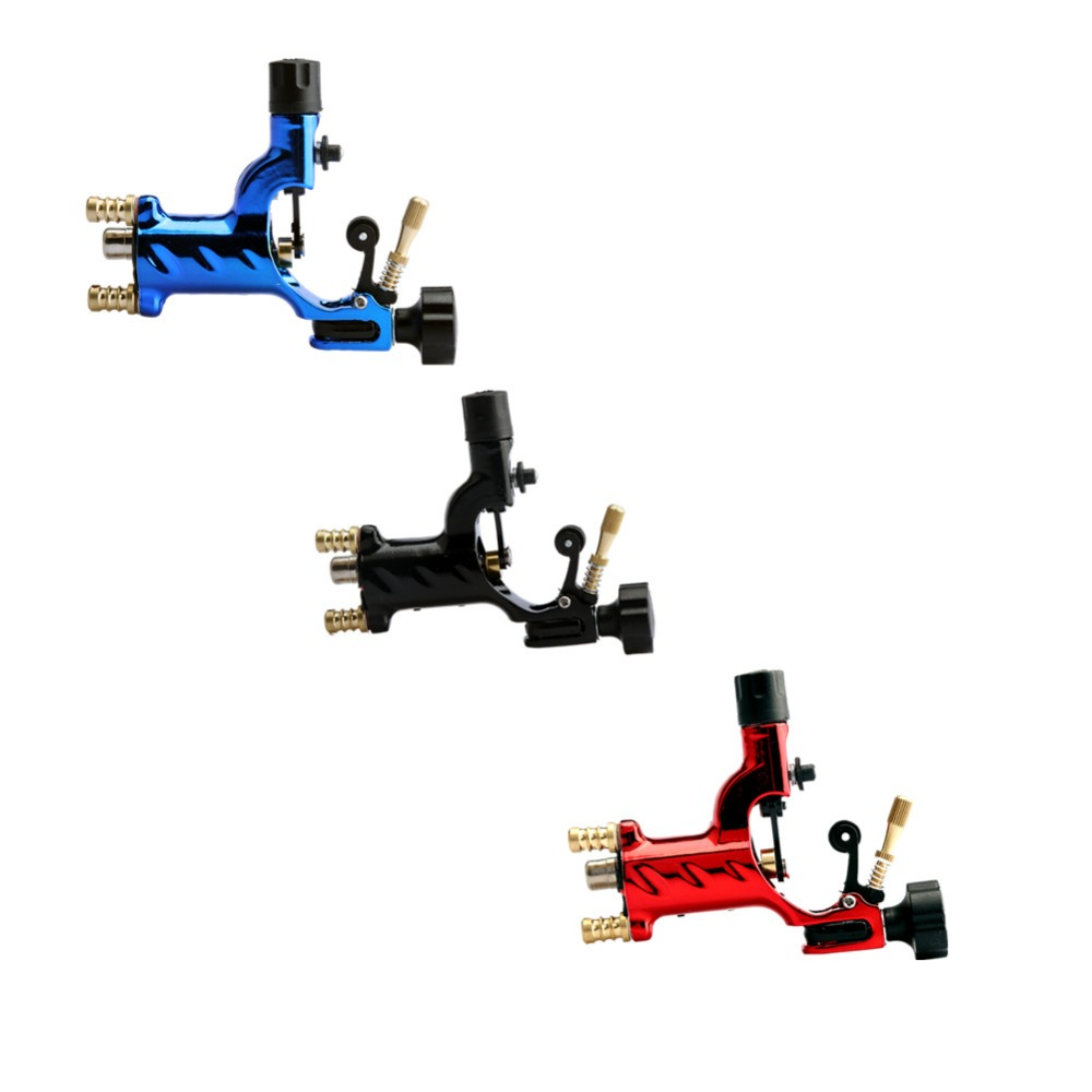 New Excellent Quality Rotary Tattoo Machine Professional Shader And Liner Assorted Tattoo Motor Gun Kits Supply