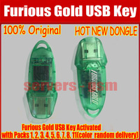 100% Original Furious Gold USB Key Activated with(green) Packs 1, 2, 3, 4, 5, 6, 8, 11
