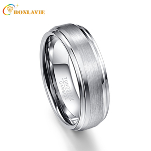 Silver Color Men Rings 100% Tu