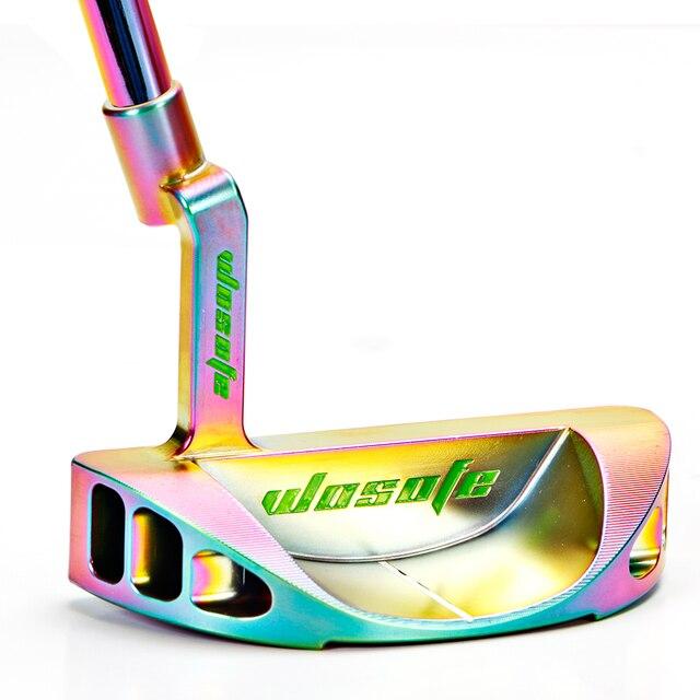 Golf clubs putter männer rechtshänder farbe putter stahl welle kostenloser shipiping
