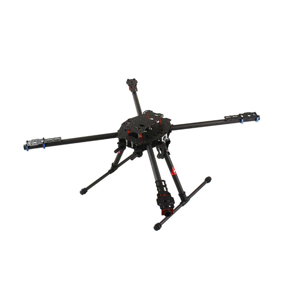 Tarot FY650 3 k Pur Fiber De Carbone Pleine Pliant Hexacopter 650mm FPV Aéronefs Cadre TL65B01 pour DIY Drone Aérienne photographie