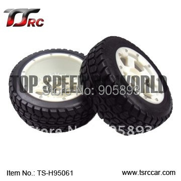 5T Rear Highway-road Wheel Set With Nylon Super Star Wheel For 1/5 Baja 5T Parts(TS-H95061),wholesale and retail+Free shipping! free shipping clutch bell holder spacer for 1 5 hpi baja 5b parts ts h65047 wholesale and retail