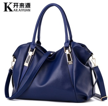 july s song new fashion high capacity pu handbag beautiful high qualitytravel bag for women and family lunch bag Ladies bag new fashion designer women pu handbag, high quality shoulder bags tote bag 6 color