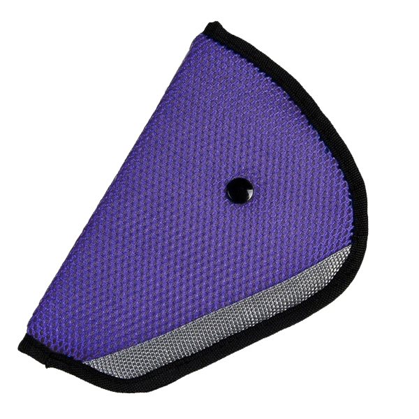 Car Accessories Comfortable Child Car Seat Belt Holder Purple